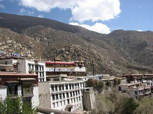 Tibet Drepung Monstery